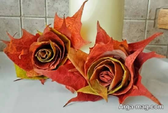 کاردستی زیبای فصل پاییز