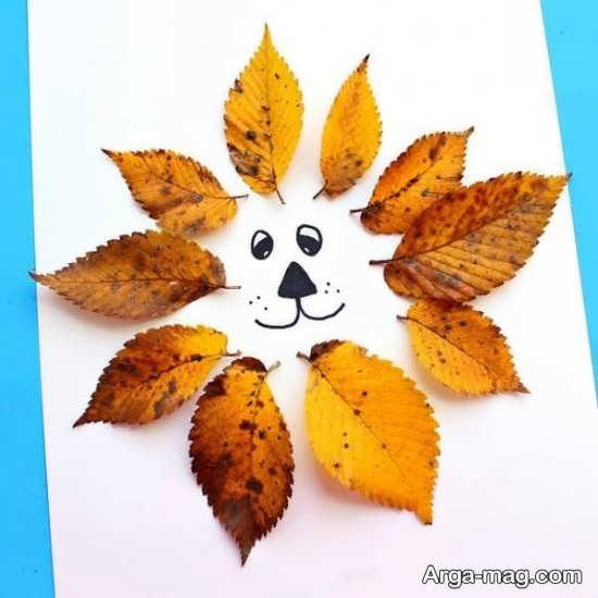 کاردستی بگهای پاییزی