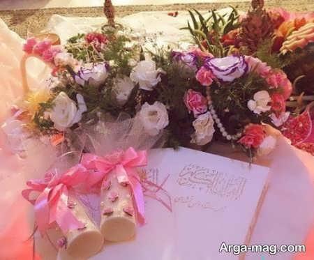 تزیینات قرآن عروس برای جهیزیه عروس
