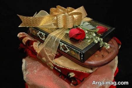 تزیین زیبا و جذاب قرآن عروس