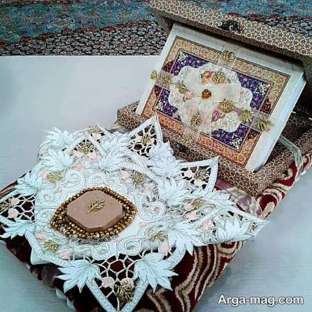 ایده هایی برای تزیین قرآن عروس