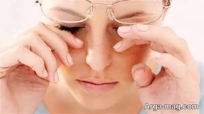 خشکی چشم و نشانه های آن