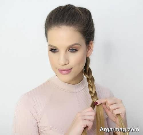 بافت موی زنانه هلندی