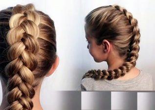 آموزش بافت موی هلندی