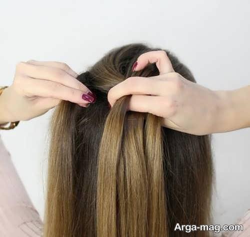 بافت موی زیبا هلندی
