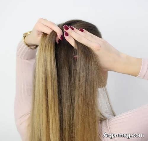 بافت موی زیبا و شیک هلندی