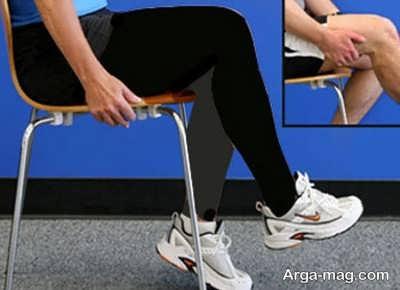 انجام تمرین برای زانو درد