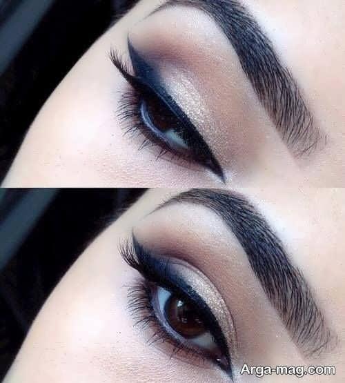 خط چشم شیک و زیبا دخترانه