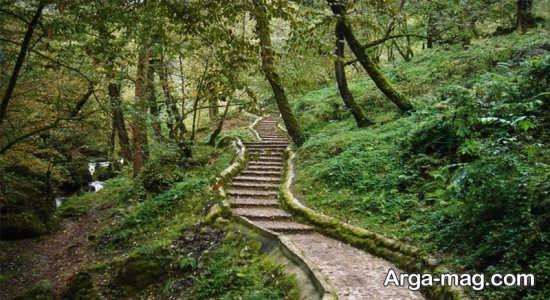مسیر سر سبز قلعه رود خان فومن