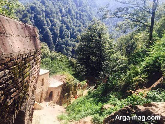 قلعه رود خان و طبیعت سر سبز فومن