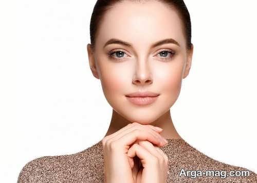 مدل آرایش صورت شیک و زنانه