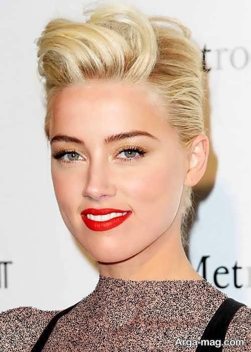 مدل های آرایش صورت با موی کوتاه