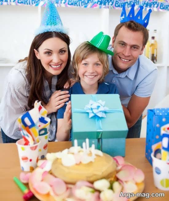 ژست عکس جالب برای تولد