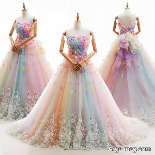 لباس عروس جذاب و فانتزی