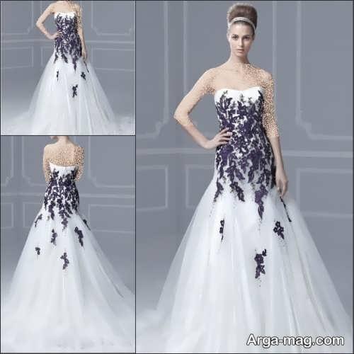 لباس عروس شیک و فانتزی