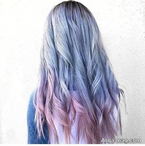 رنگ موی خاص و فانتزی دخترانه