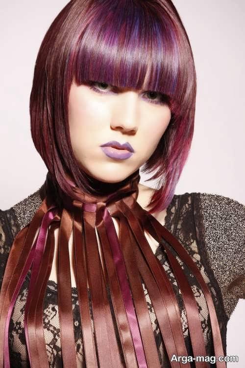 رنگ موی شیک و جدید دخترانه