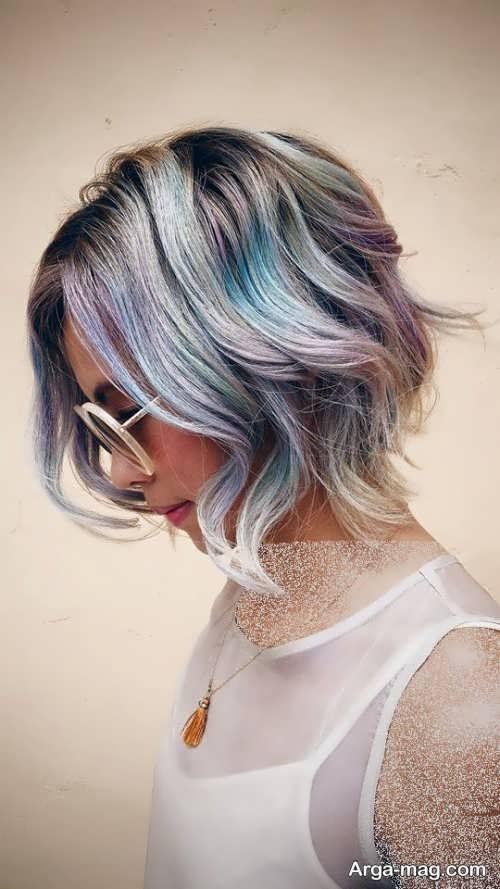 رنگ موی زیبا و شیک دخترانه