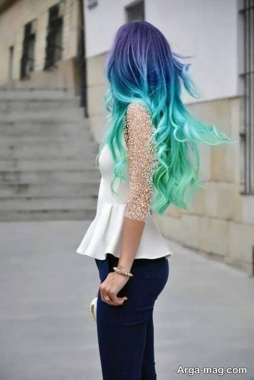 رنگ موی جدید و فانتزی