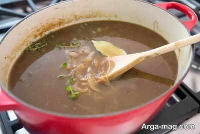 طرز تهیه سوپ فرانسوی