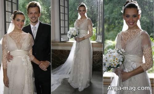ژست عکس دو نفره عروس و داماد