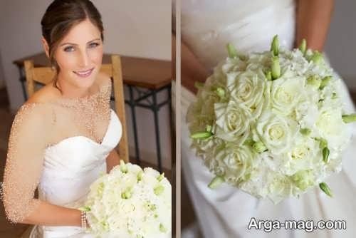 ژست عکس عروس