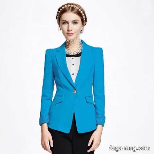 مدل آبی کت اسپرت دختران