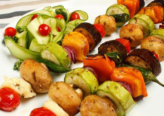 طرز تهیه کباب سبزیجات