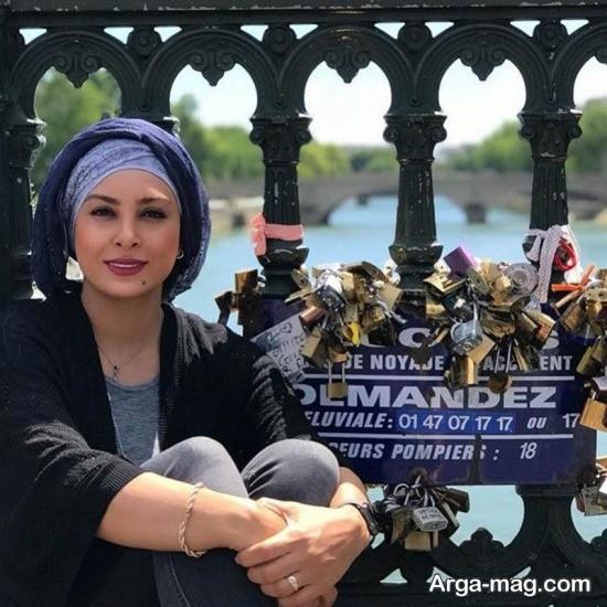 حدیثه تهرانی در فرانسه