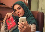 حدیثه تهرانی همچنان در اروپا به سر می برد + عکس