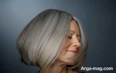رنگ مو برای موهای سفید