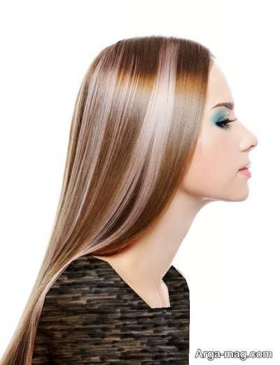 رنگ مو برای موهای سفید و بلند