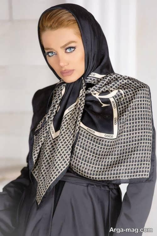 مدل موی خاص و جدید برای زیر روسری