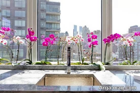 تزیین ظریف منزل با گل طبیعی
