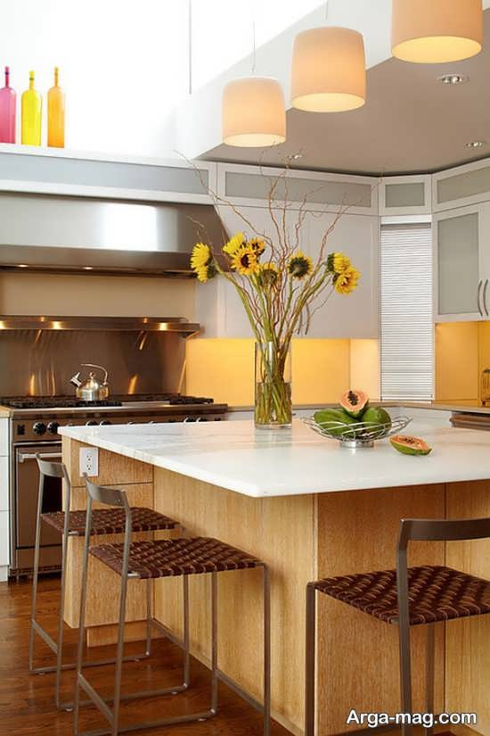 تزیین جدید منزل با گل طبیعی