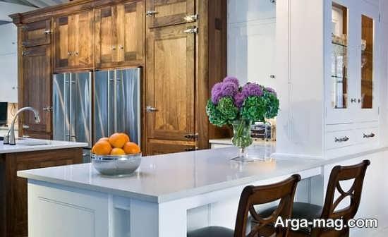 تزیین مدرن منزل با گل طبیعی