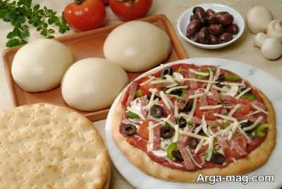 روش تهیه خمیر پیتزا