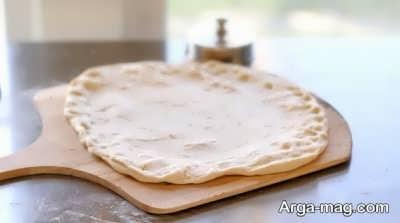 خمیر پیتزا فوری