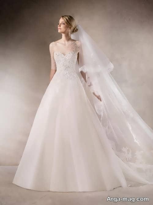 مدل لباس عروس ایرانی شیک و جدید