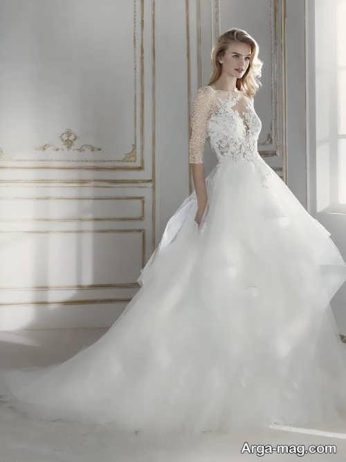 لباس عروس خاص و جذاب