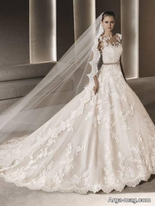 لباس عروس خاص و زیبا