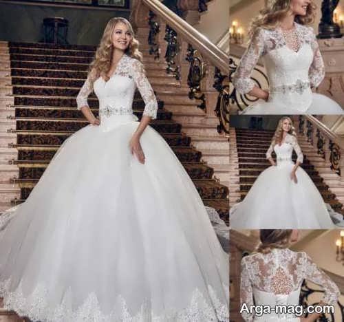 لباس عروس شیک و جذاب ایرانی