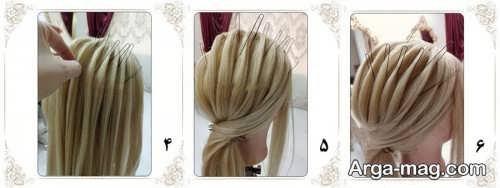 شینیون موی خطی جدید