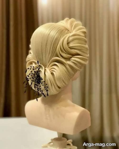 مدل آرایش موی شیک و خطی
