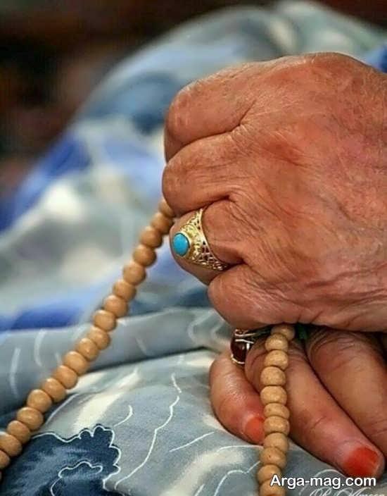 عکس فوت مادربزرگ