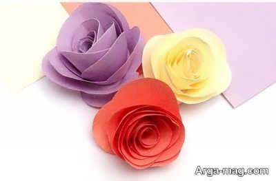 گل کاغذی پیچ در پیچ