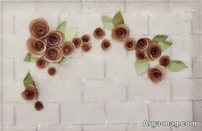 ساخت گل با مقوا