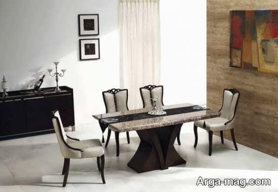 دیزاین مدرن میز ناهار خوری