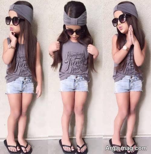 مدل لباس اسپرت دختر بچه جدید