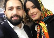 انتشار تصاویر جدید محسن افشانی و همسرش در سالن میلاد نمایشگاه بین المللی